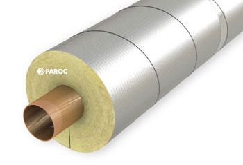 Paroc recommends aluminium foil faced PAROC Hvac products